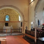 Swyncombe Church Chancel view